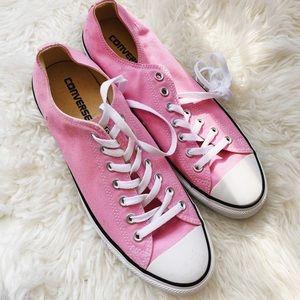 New Men's Pink Converse